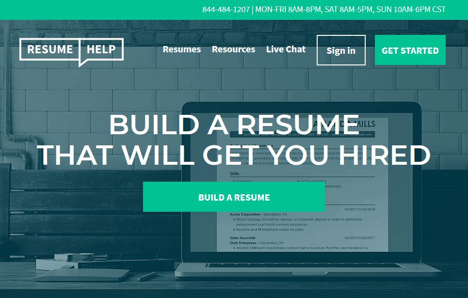 Resumehelp Preview