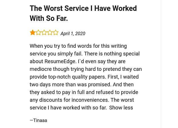 Resumeedge.com overview