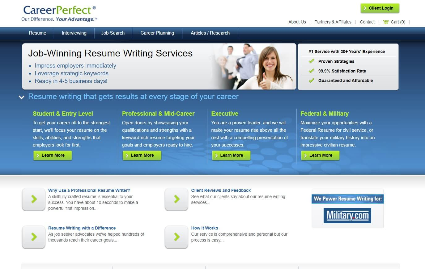 Careerperfect.com overview