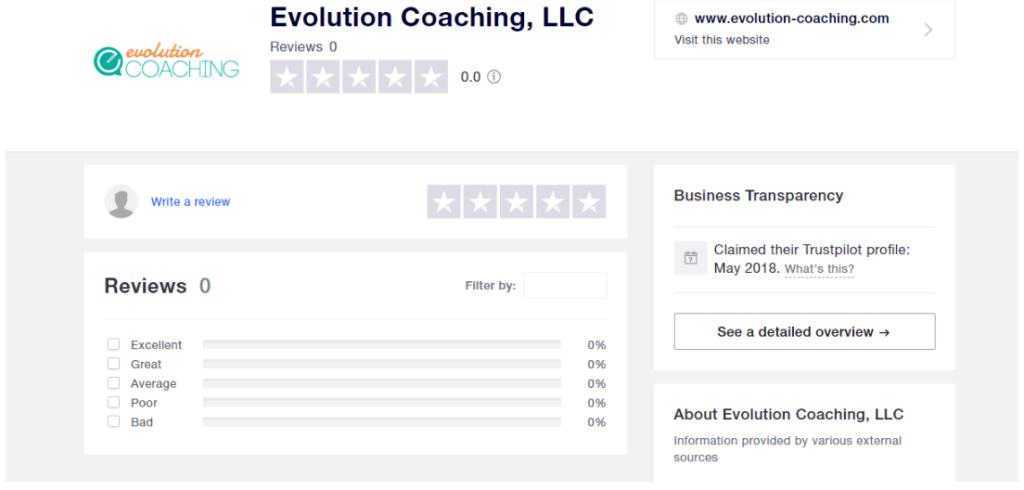 evolution-coaching-reviews