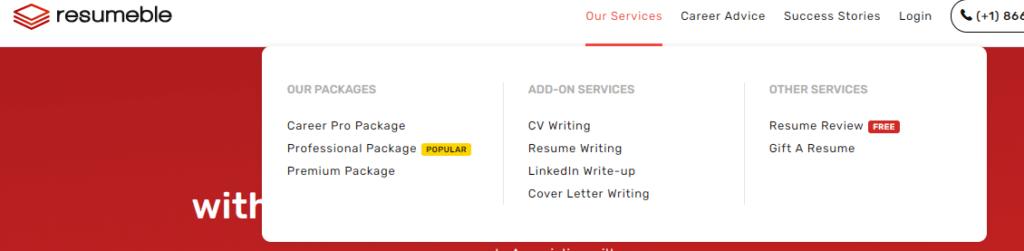 Resumeble Services